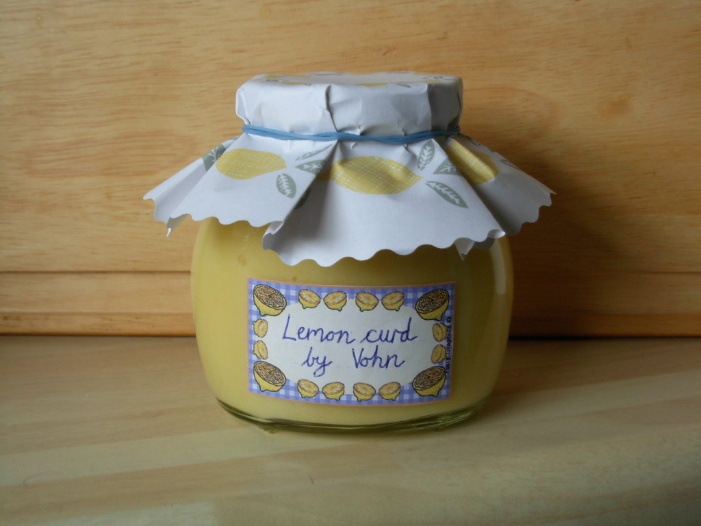homemade lemon curd tutorial