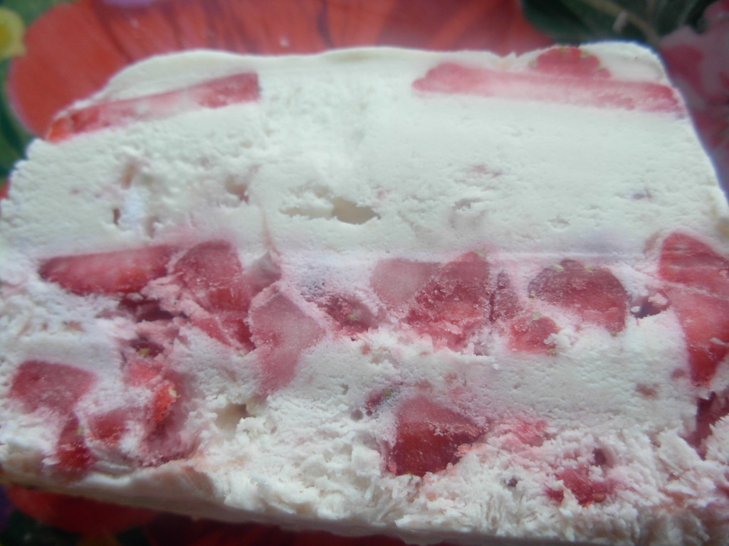 Strawberry Crunch Ice cream
