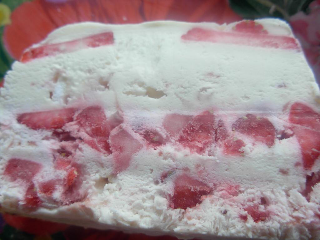 Strawberry Crunch Ice cream