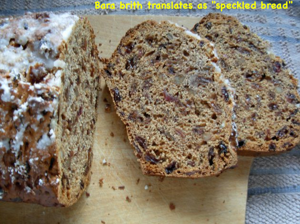 Bara Brith sliced