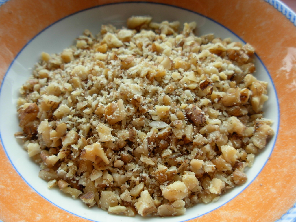 Chopped walnuts