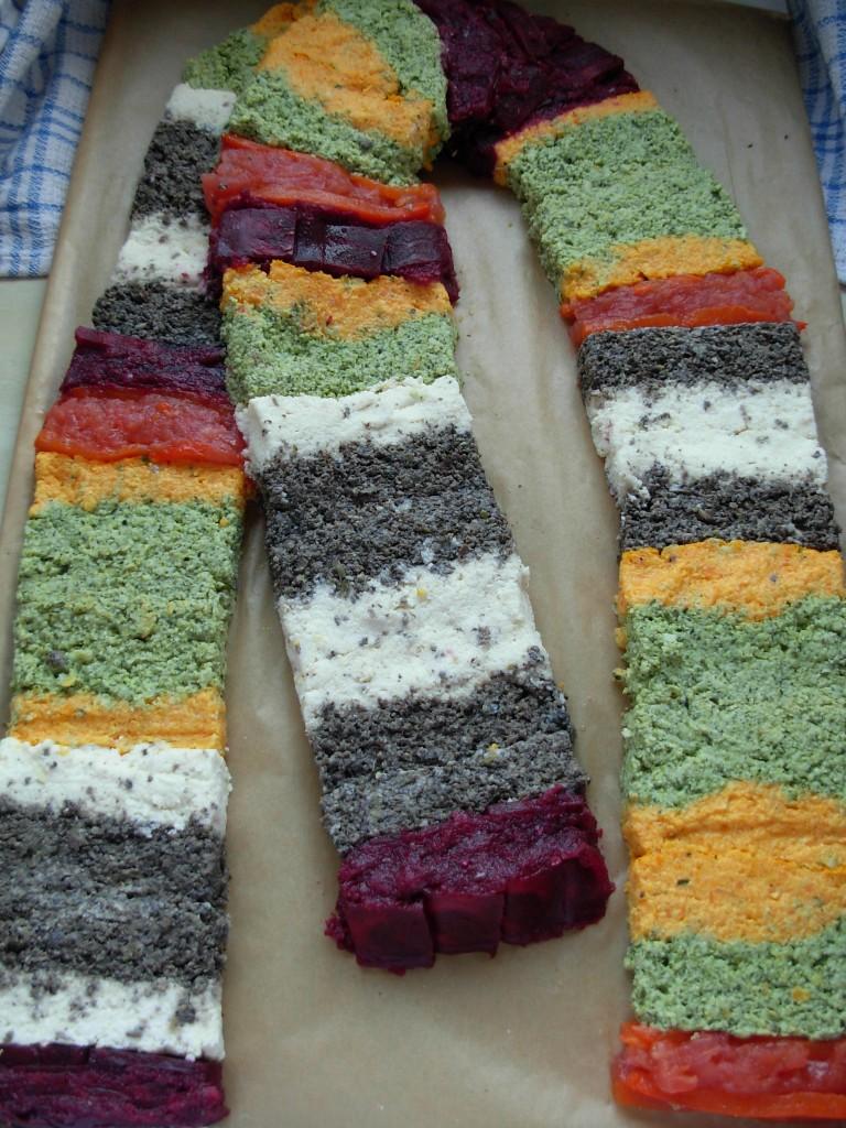 Tom Baker scarf - in veggie form