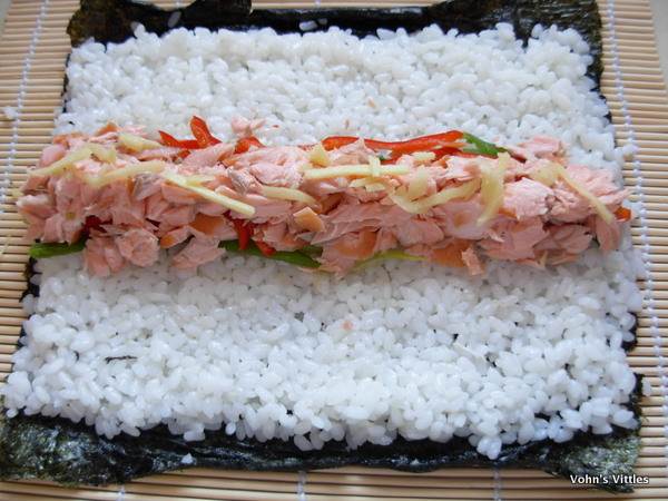 Salmon filling