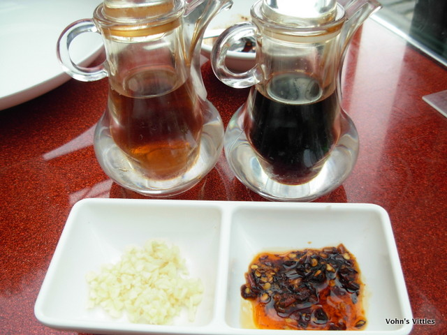 Vinegar & soy