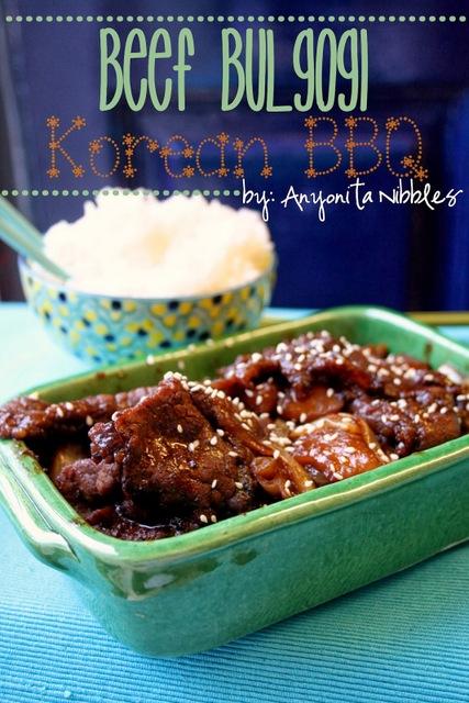 Beef Bulgogi Korean BBQ