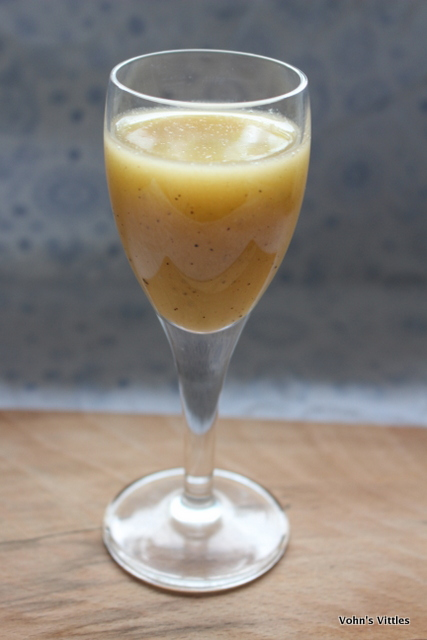 Brazilian Passion Fruit Batida