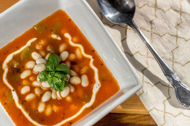 Pasulj - Serbian white bean soup