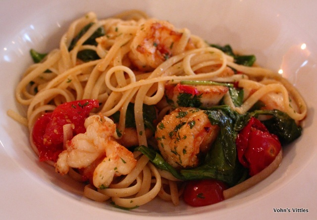 Shellfish linguini