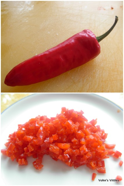 Chopped chilli
