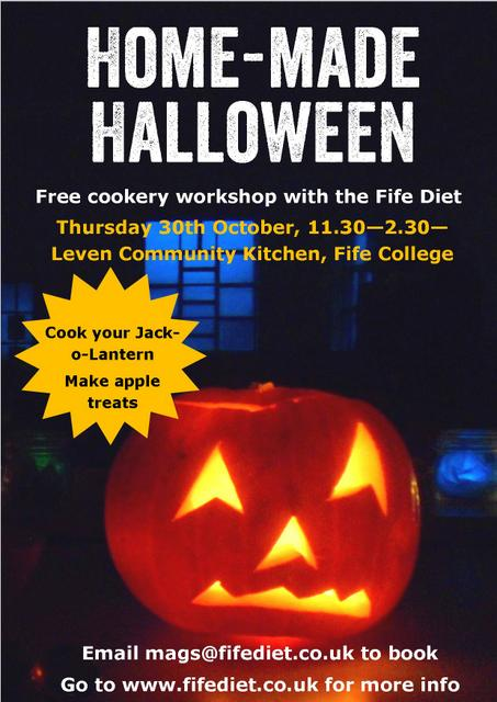 Homemade halloween workshop #Fife #Halloween