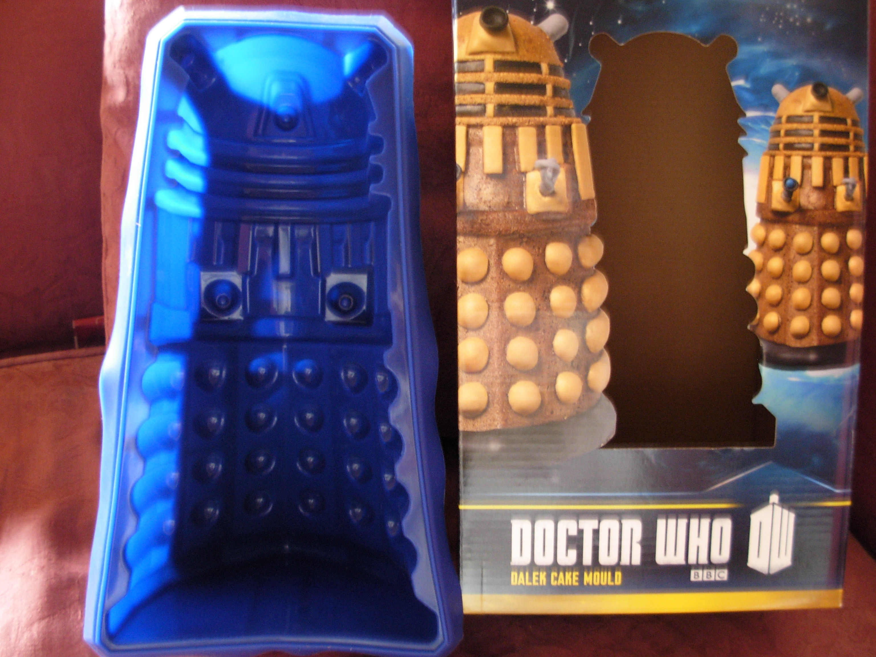 How To Make A Dr Who Dalek Cake