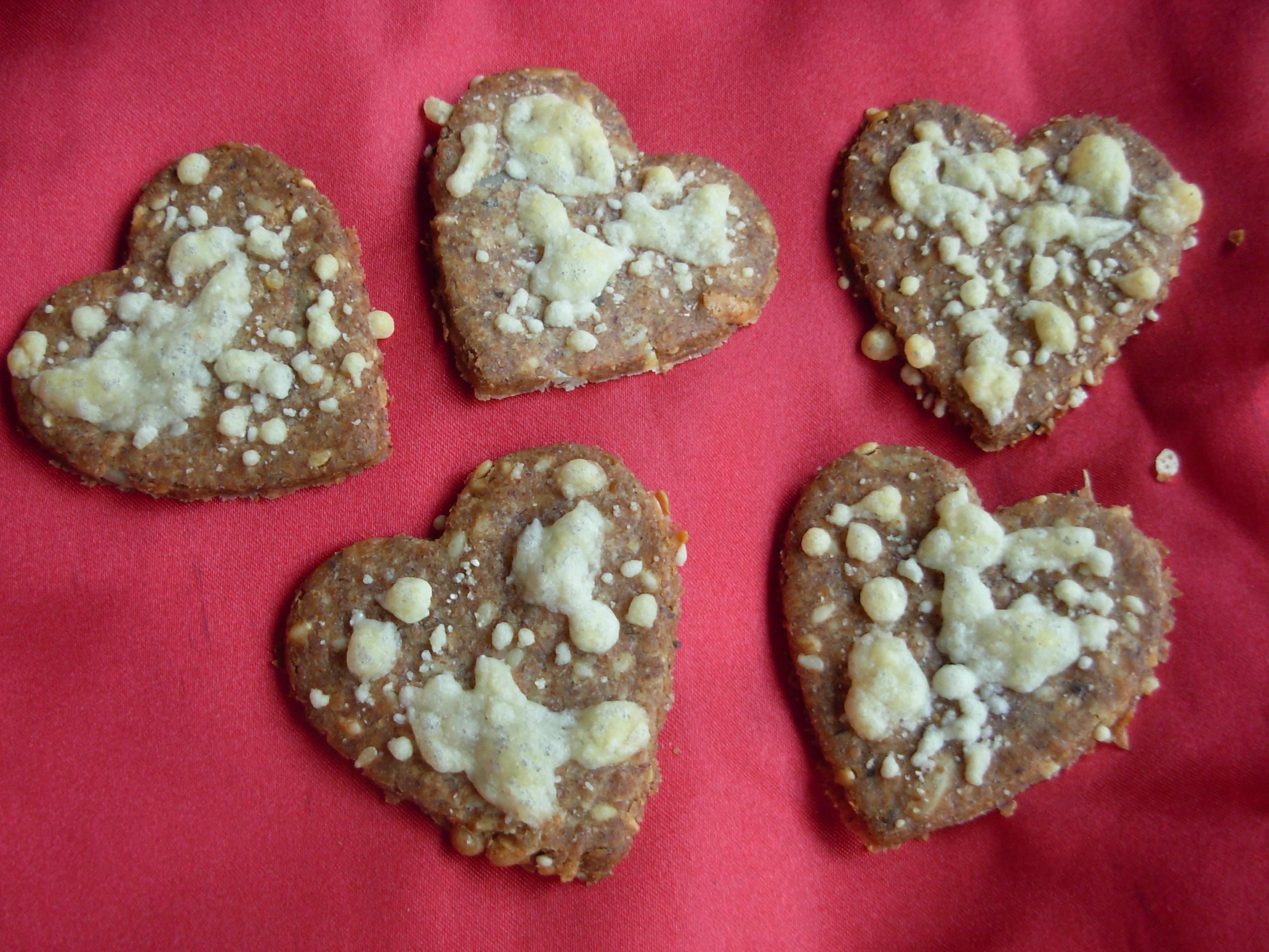 Baked Rye healthy heart crispbreads