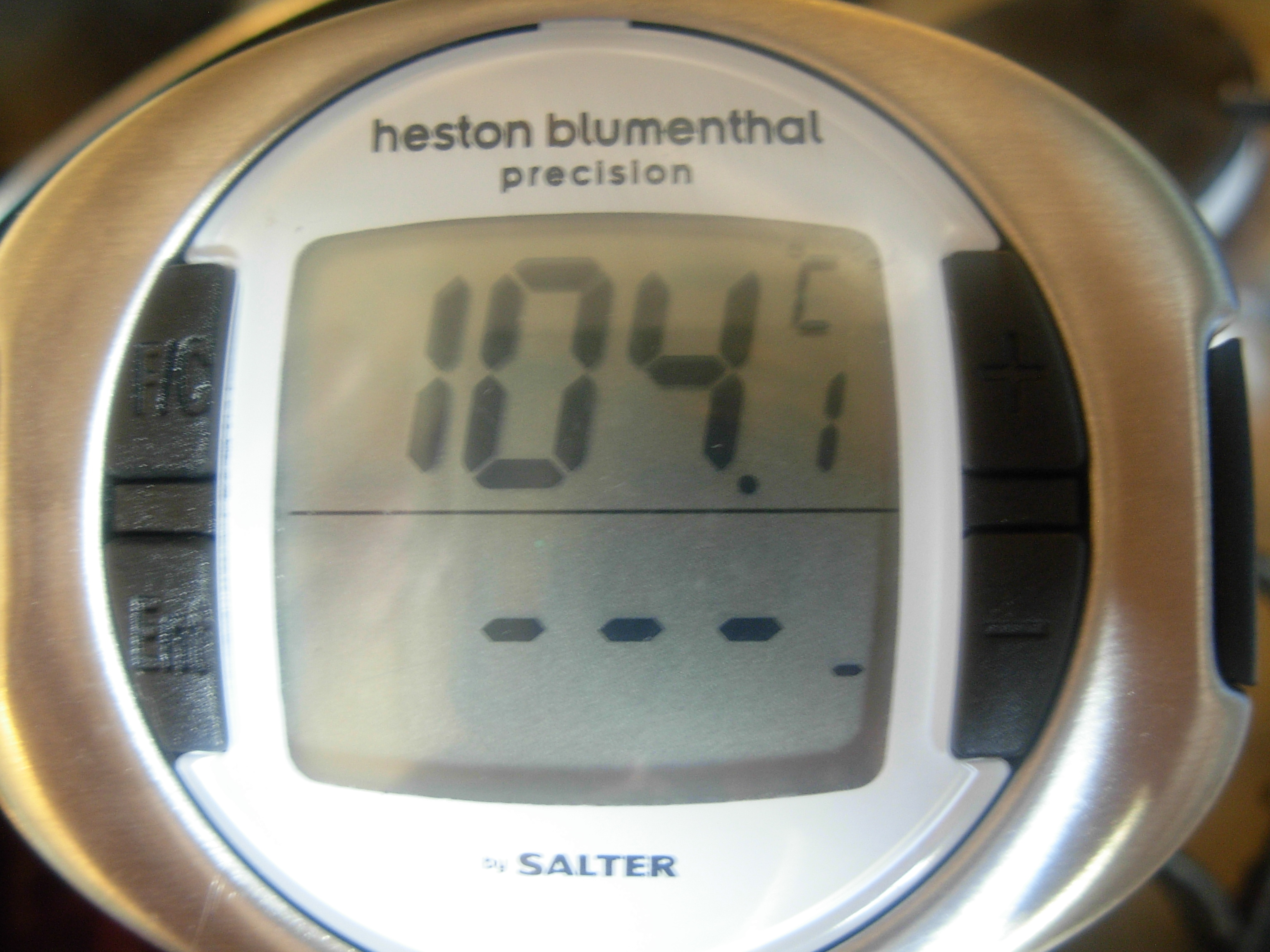 Heston Blumenthal thermometer