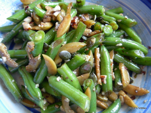 Green Bean and Hazelnut Salad with Quail's Eggs - Vohn's ...