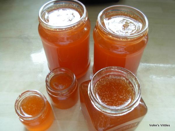 Pour into jars