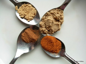 Spoonfuls of spice