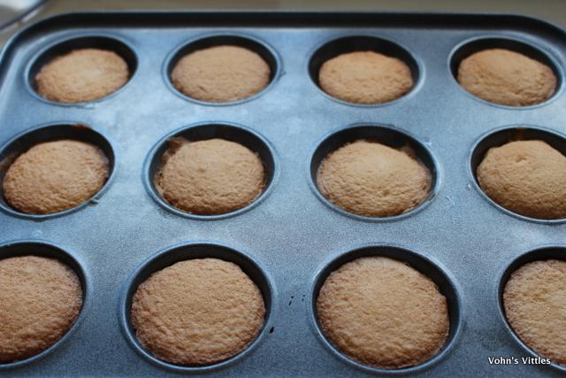 Jaffa cakes - baked