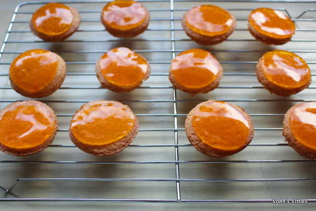 Jaffa cakes - jellied
